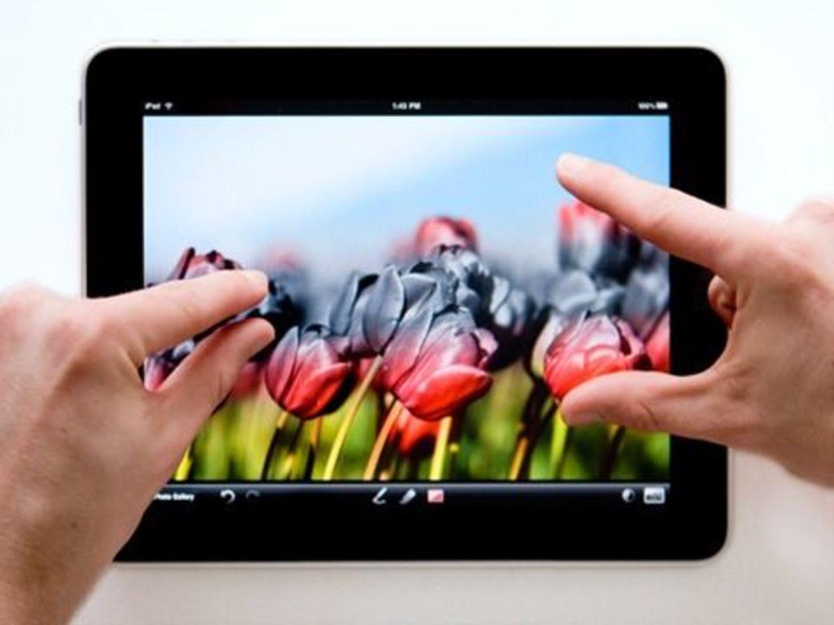 iPad Photo Editing