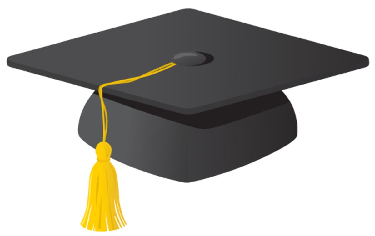 free graduation cap clip art