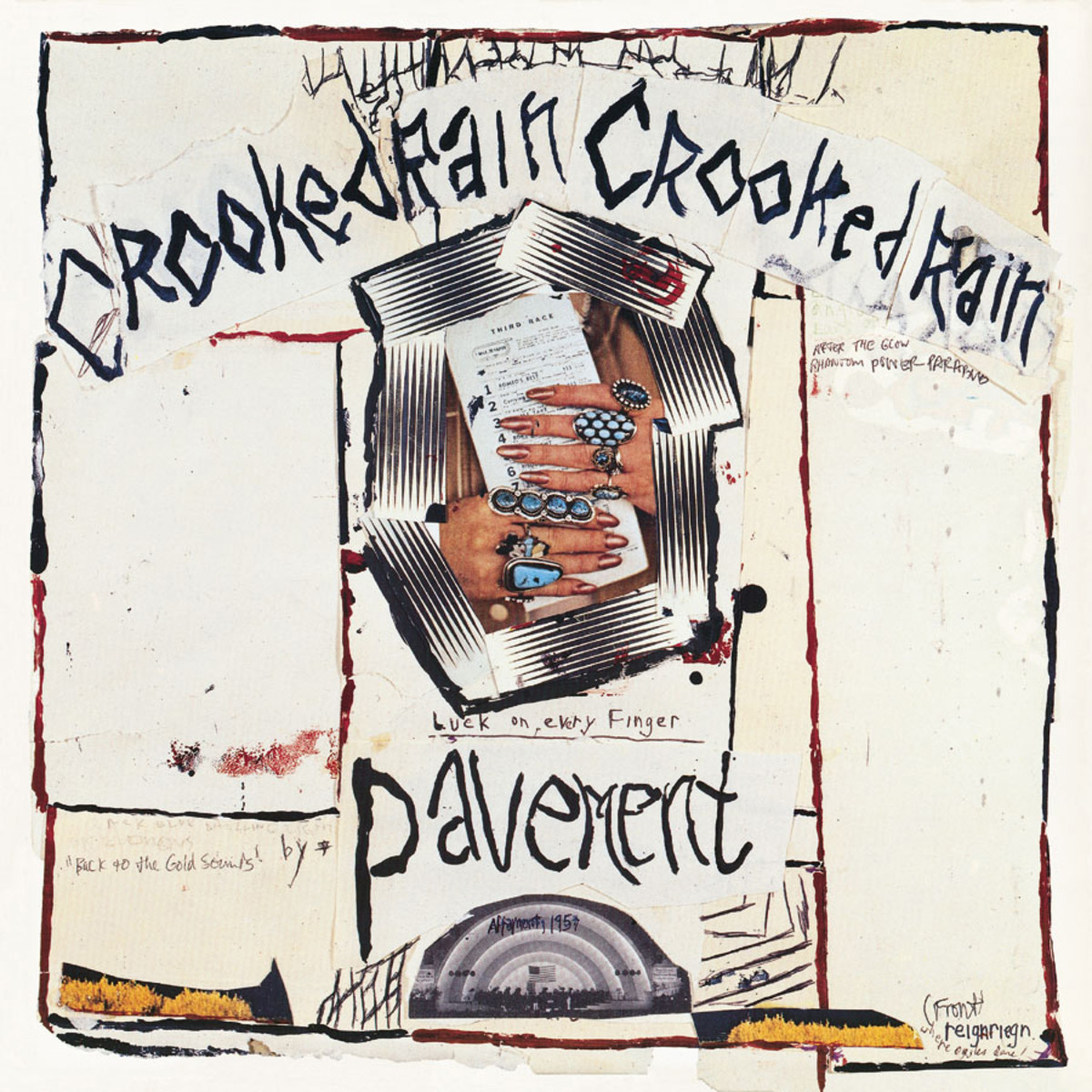 Pavement's sophomore effort, released in 1994.  (image from www.matadorrecords.com)