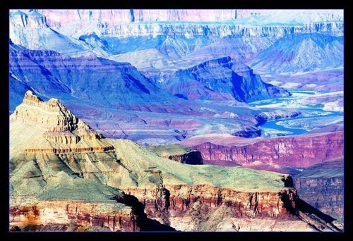 Incredible Hues of the Grand Canyon