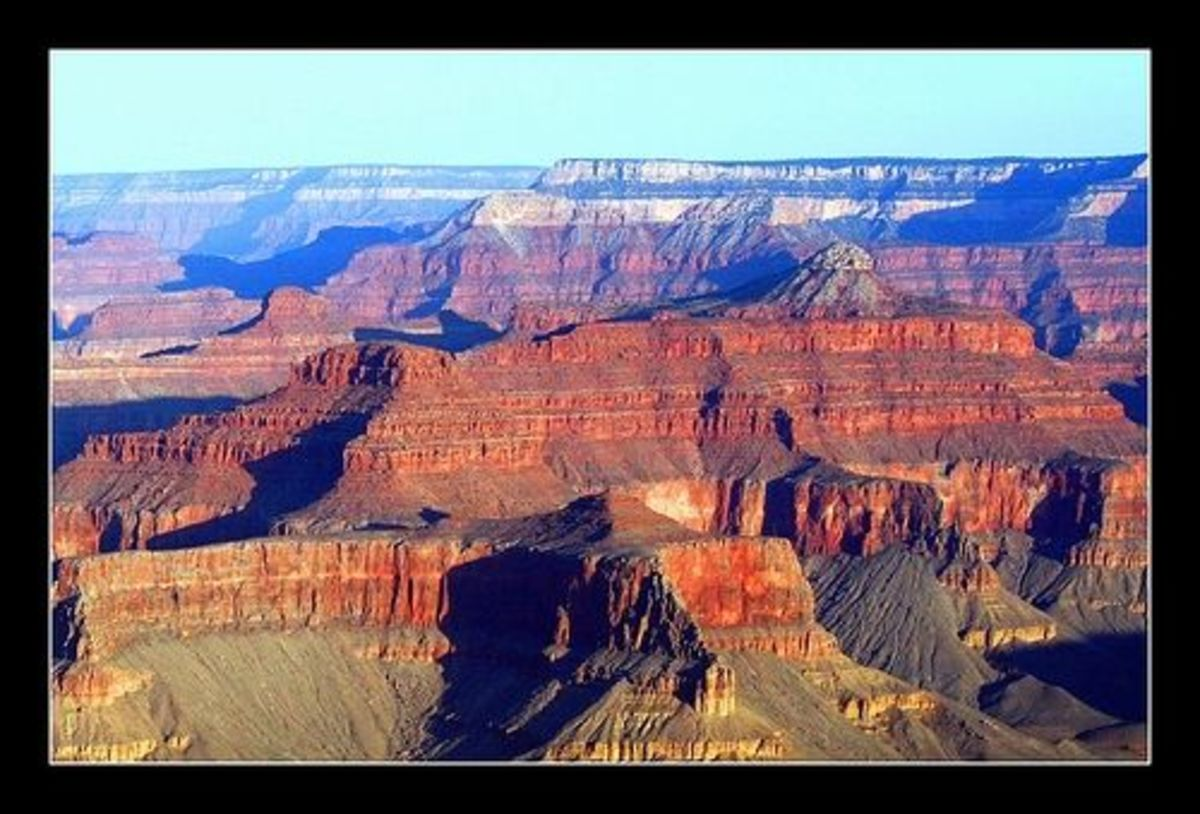 Amazing colors of the Grand Canyon