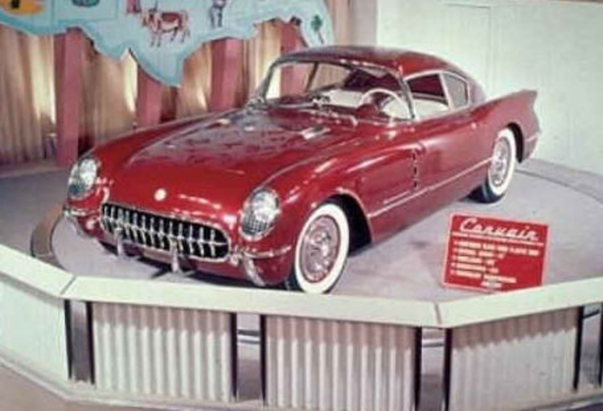 Corvair front in 1954