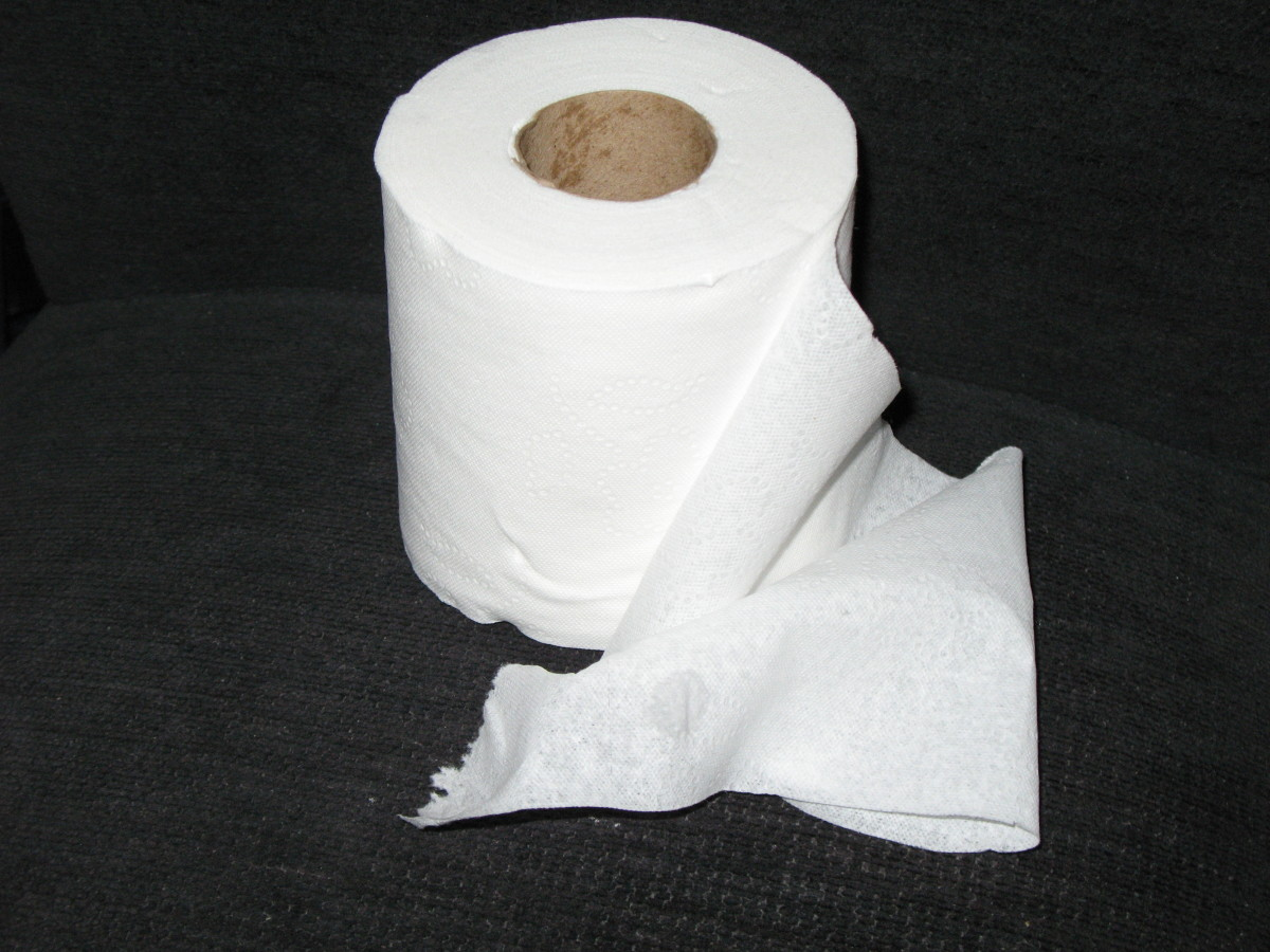 Is Your Toilet Paper Itching You? Ow!
