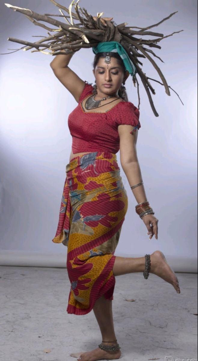 meera showing her assets
