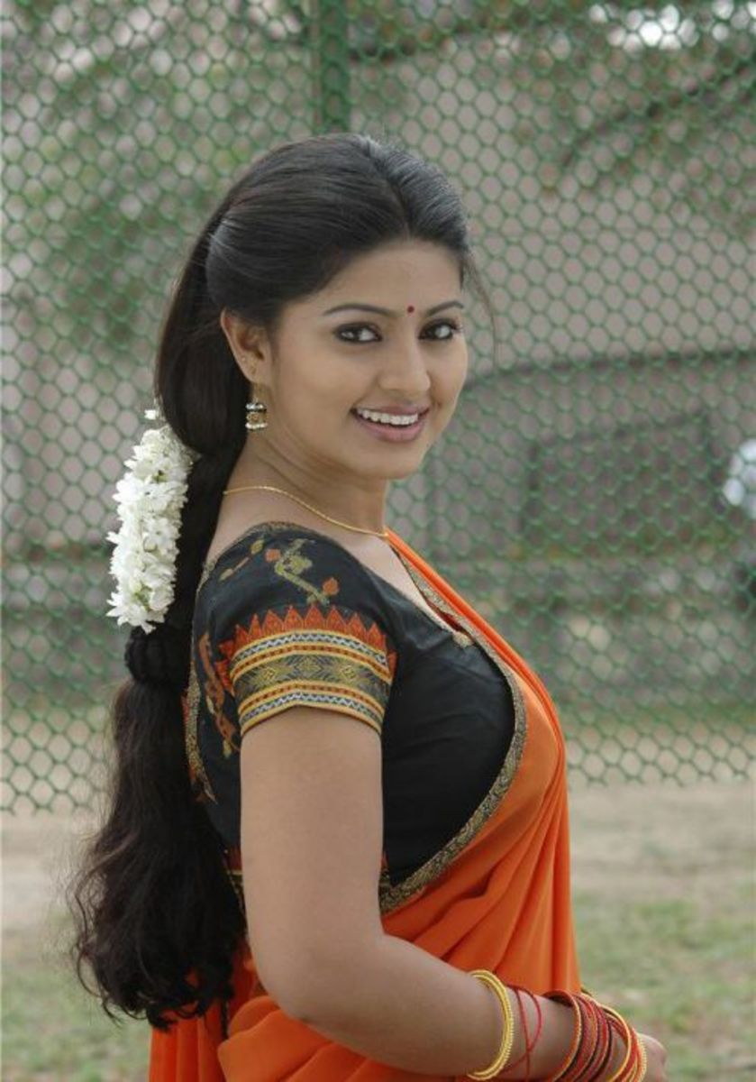 Sneha, a beautiful south Indian actress.