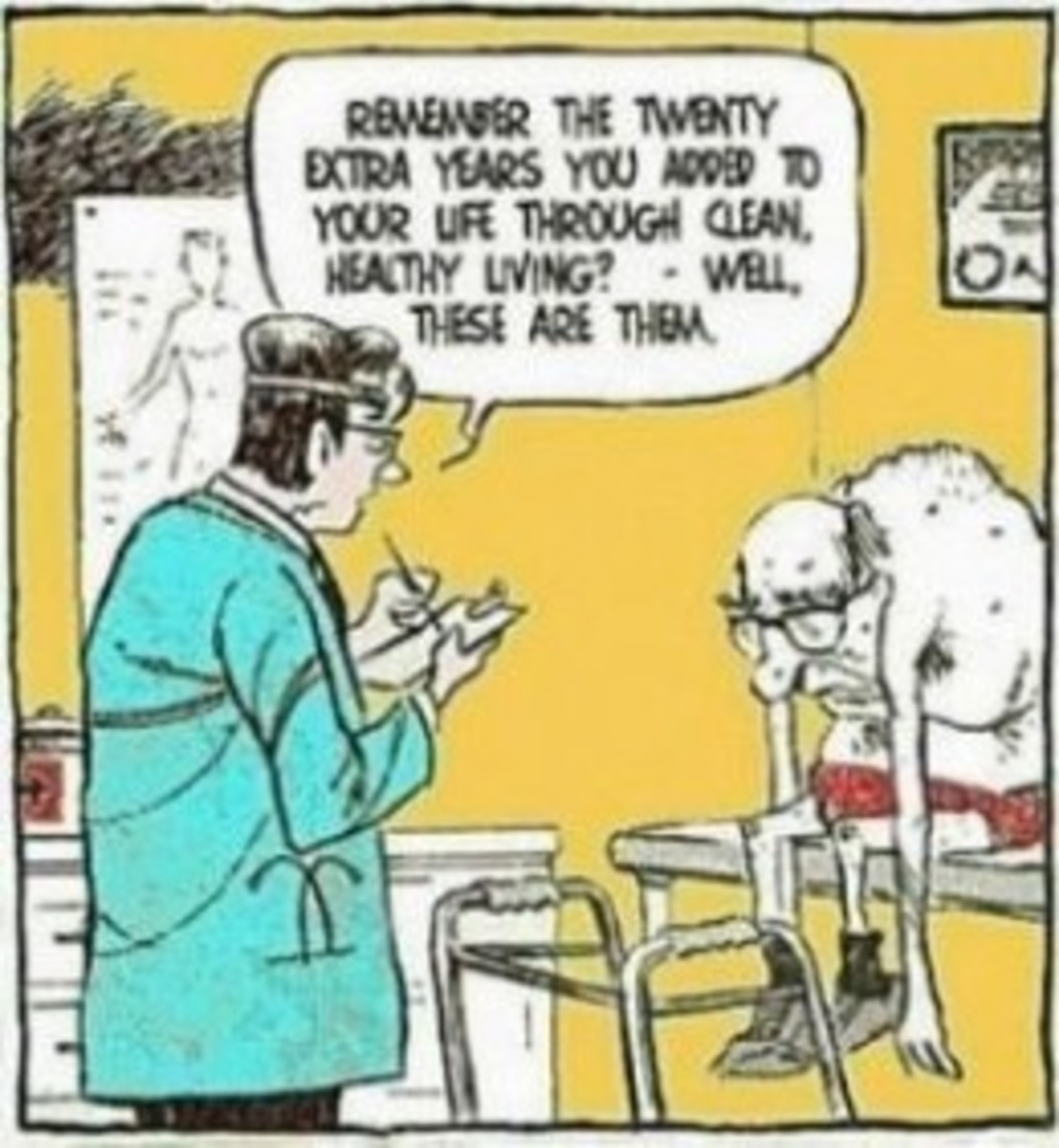 Old Age Health Problems