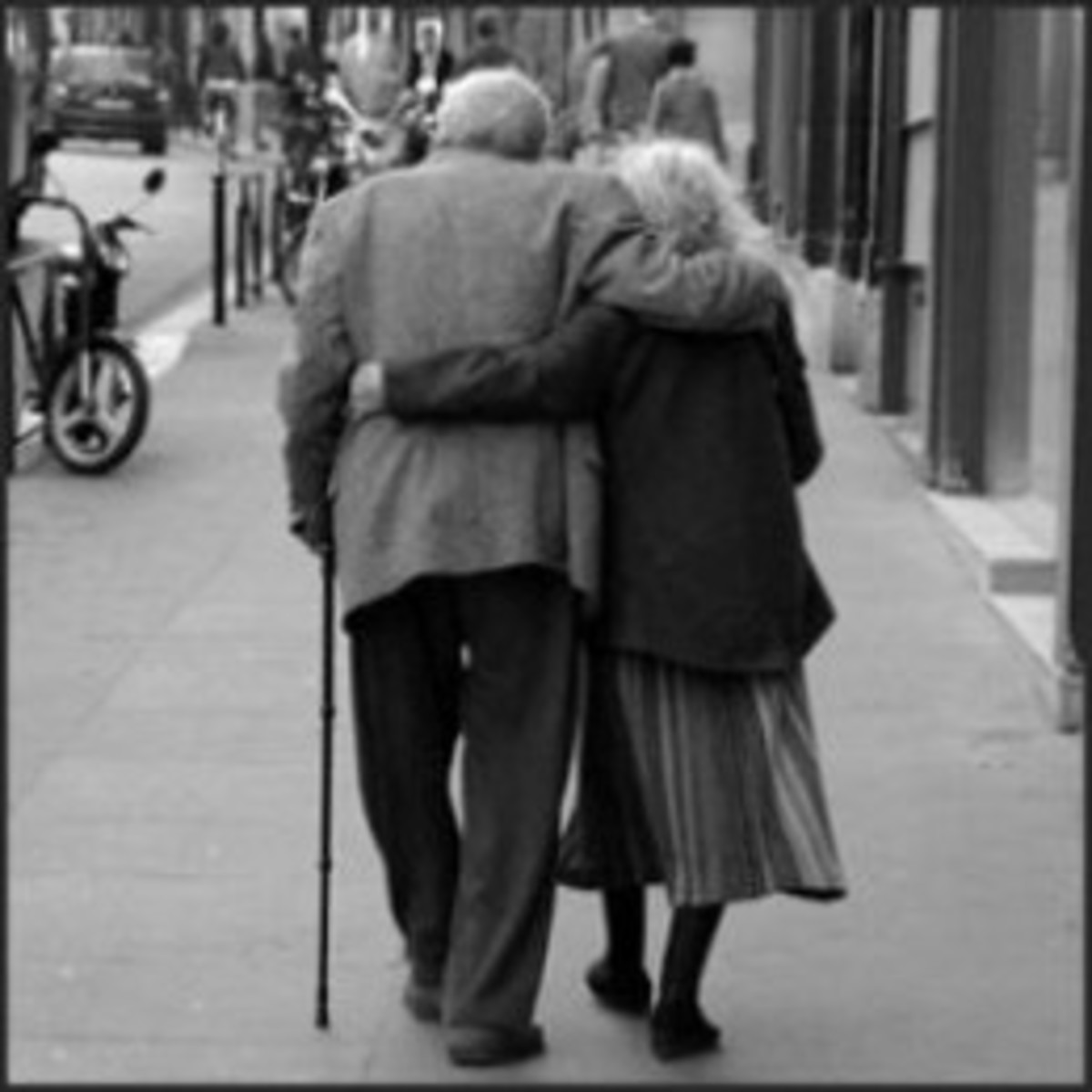Old age is a stage of life.