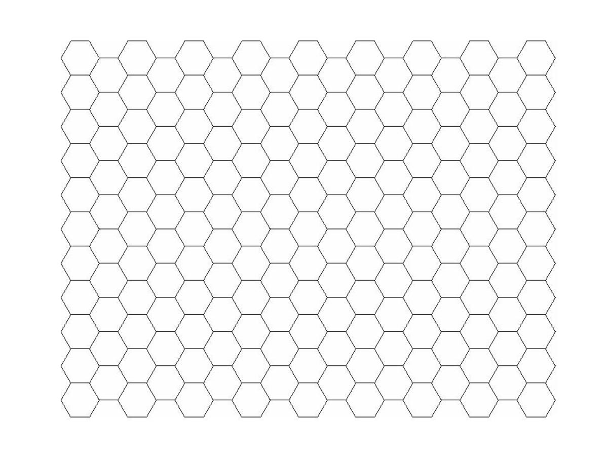 A tessellation is a way of covering the plane with shapes, leaving no gaps and in a repetitive pattern.