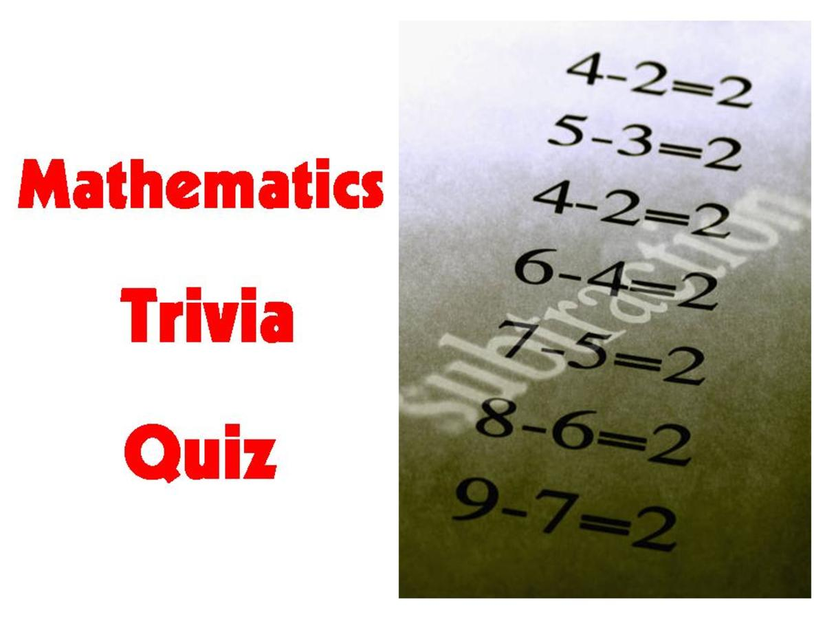 Mathematics Trivia Quiz