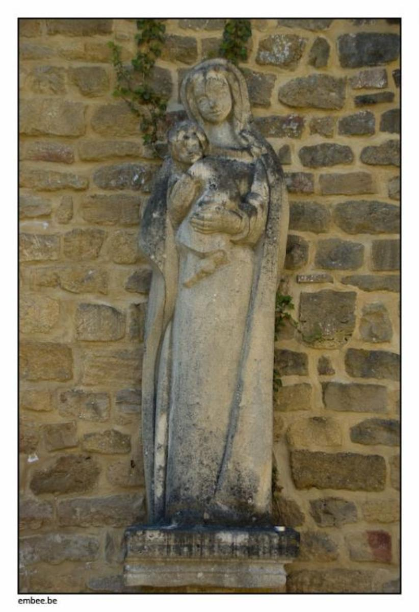 Moving to the sculpture, Maureen ran her fingers gently over the cool stone face of the lovely little madonna, who was no more than a child herself in this portrayal. Tradition indicated that the Virgin was a young teenager when she conceived.