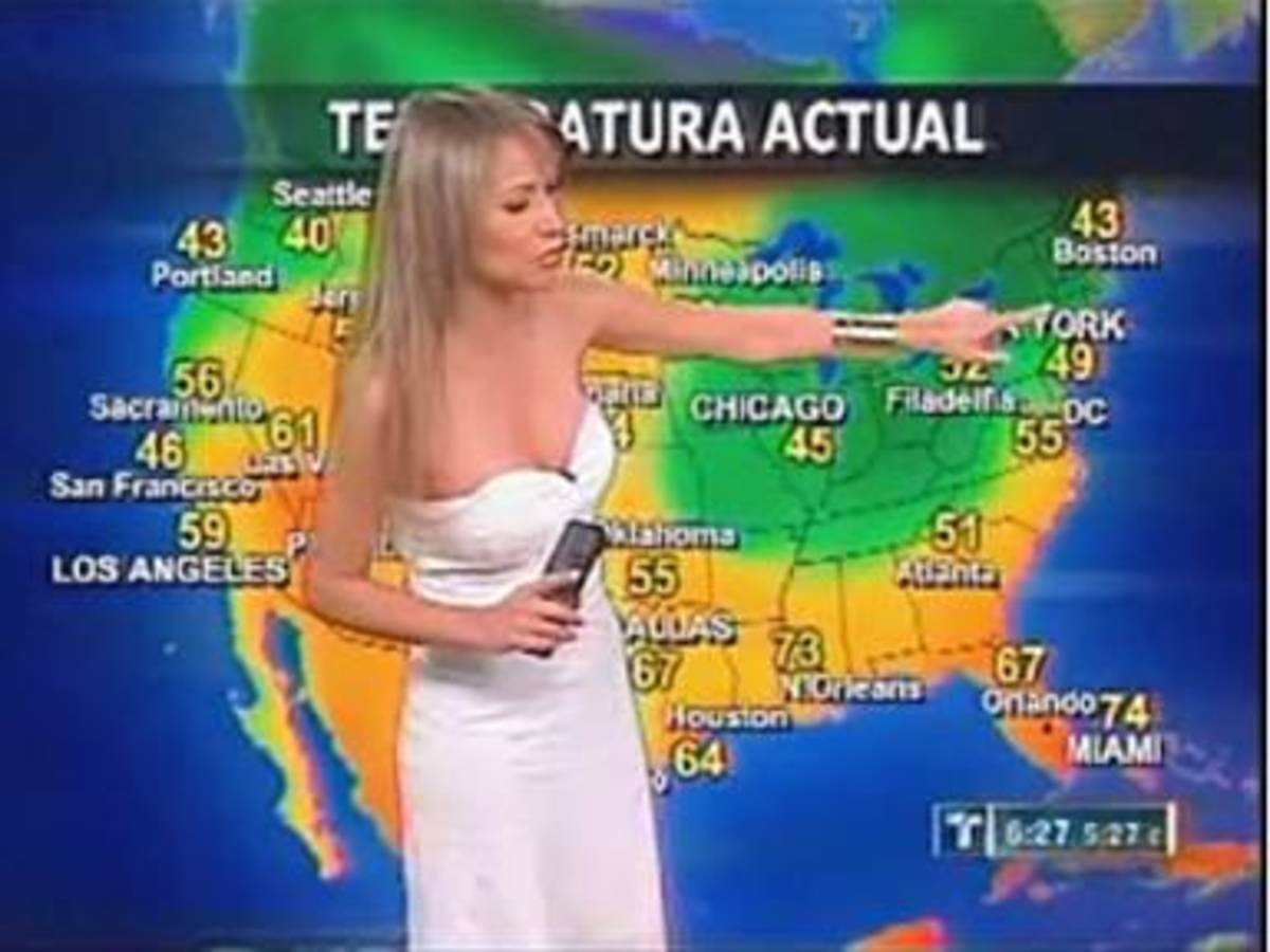 Serious Meteorology or Hot Mexican Weather Girls and  Global Sexism?
