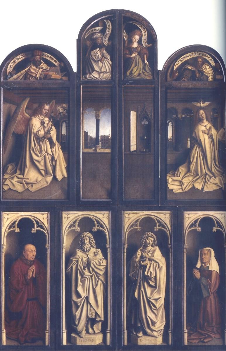 The Ghent Altarpiece - Back