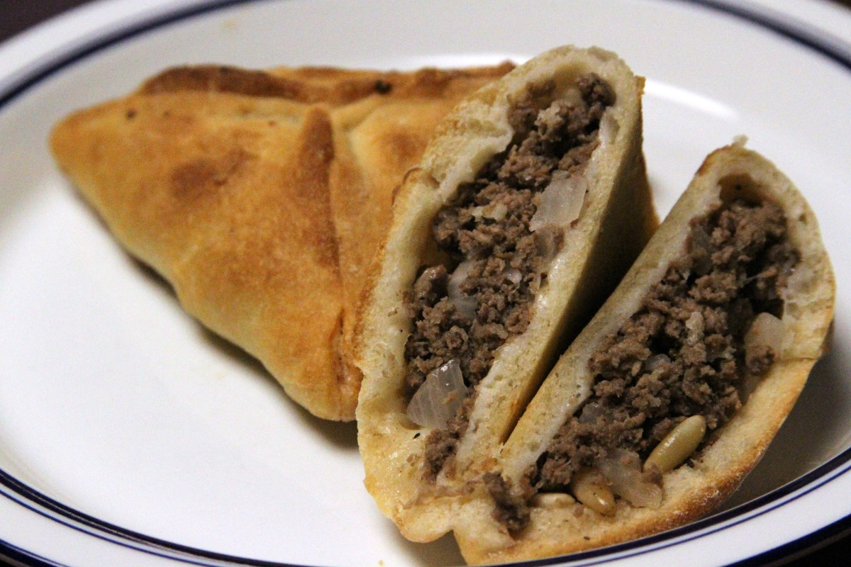 Another version of meat pie in pastry
