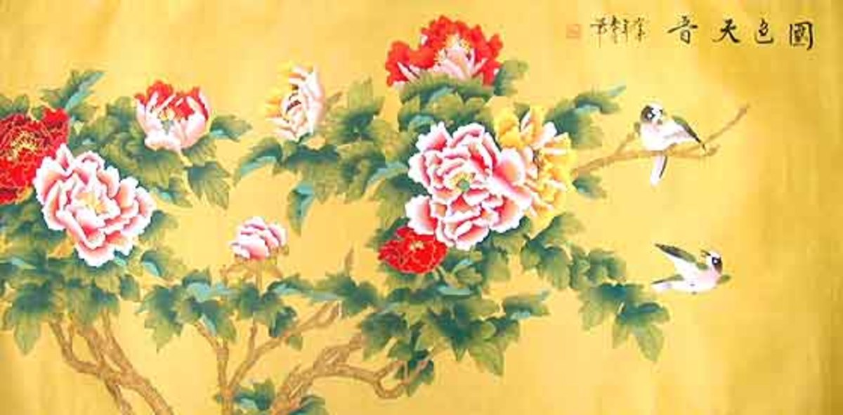 Peonies in Art and Life