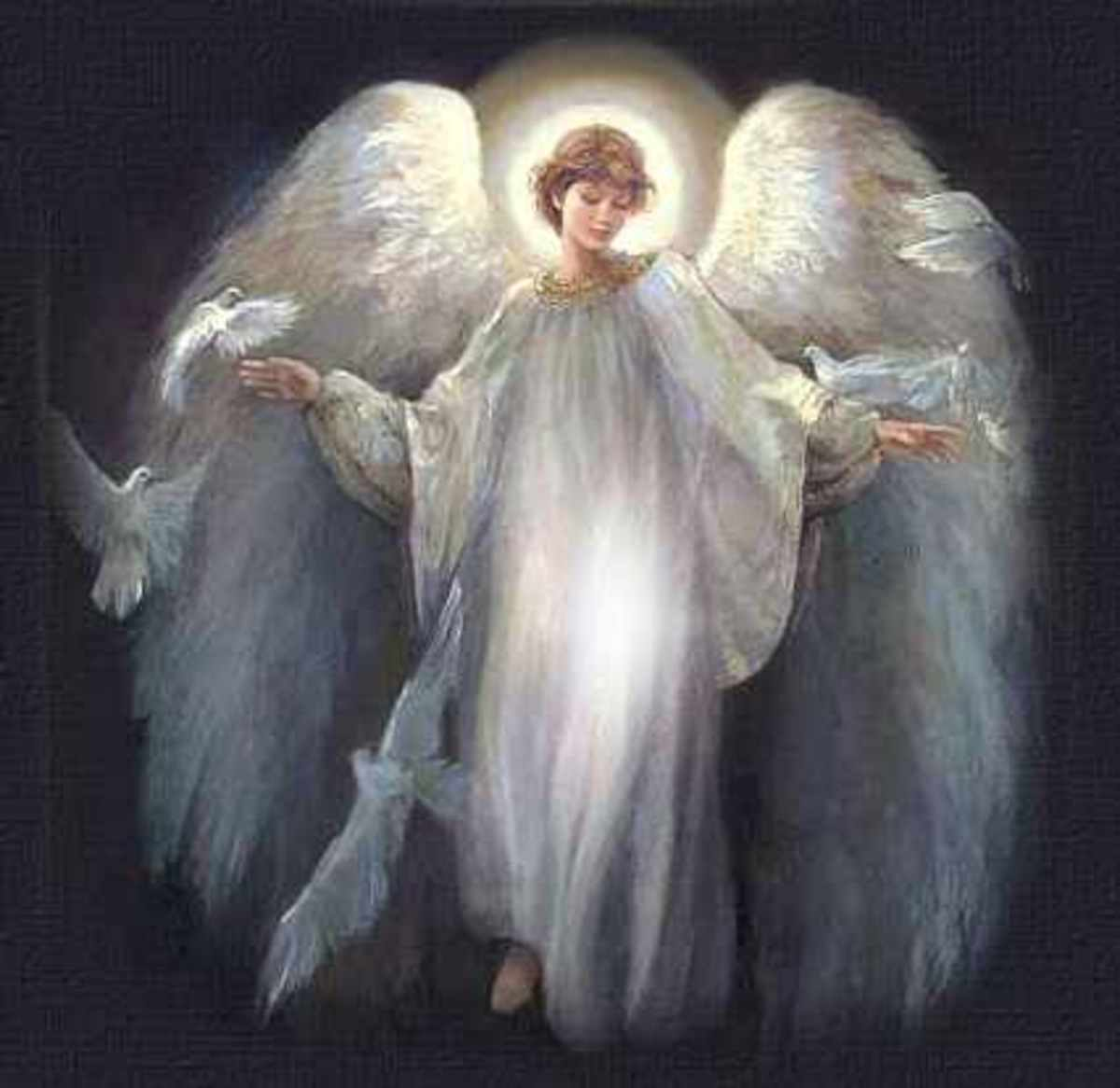 God sends angels to auto accident to rescue, protect and save me.