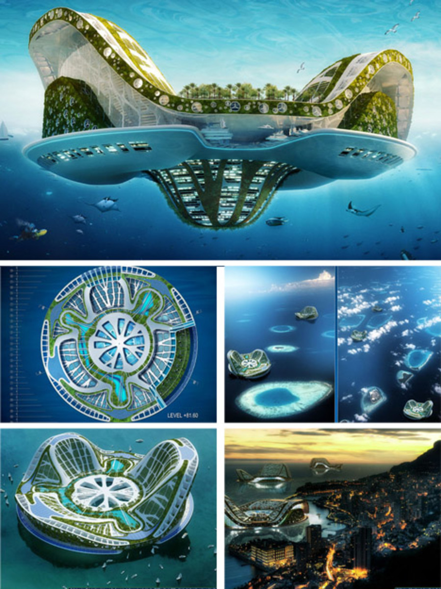 Floating Green Ecocities