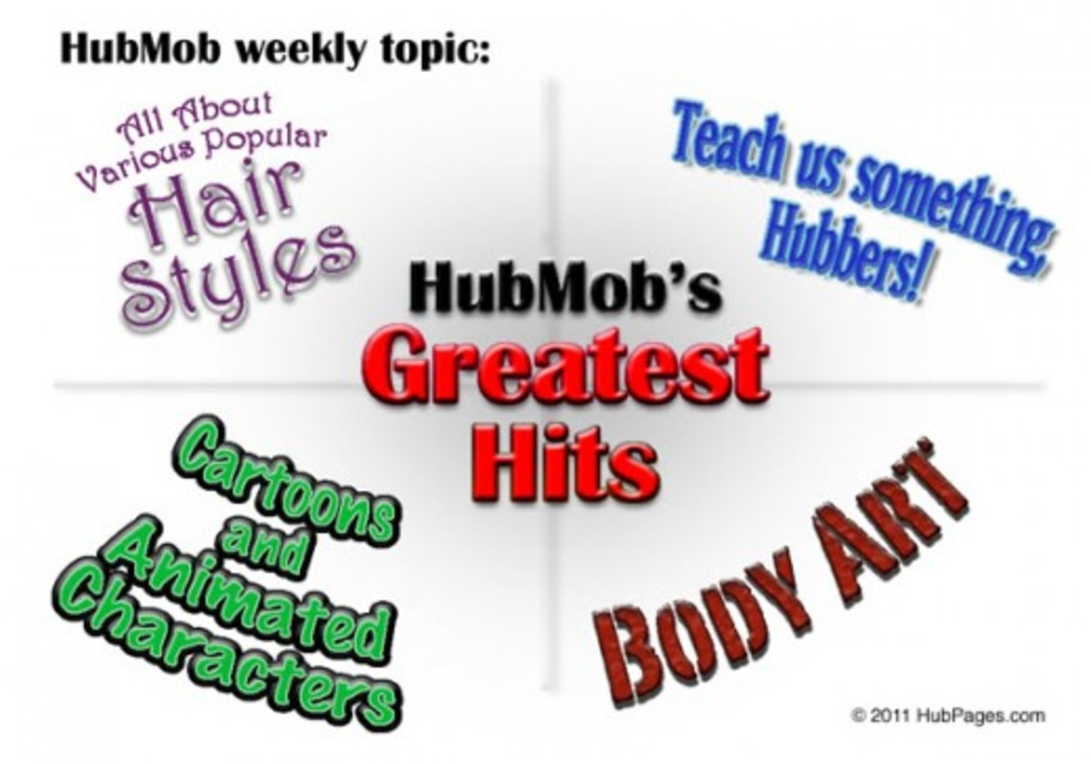 HubMob of Cartoons and Animated Characters