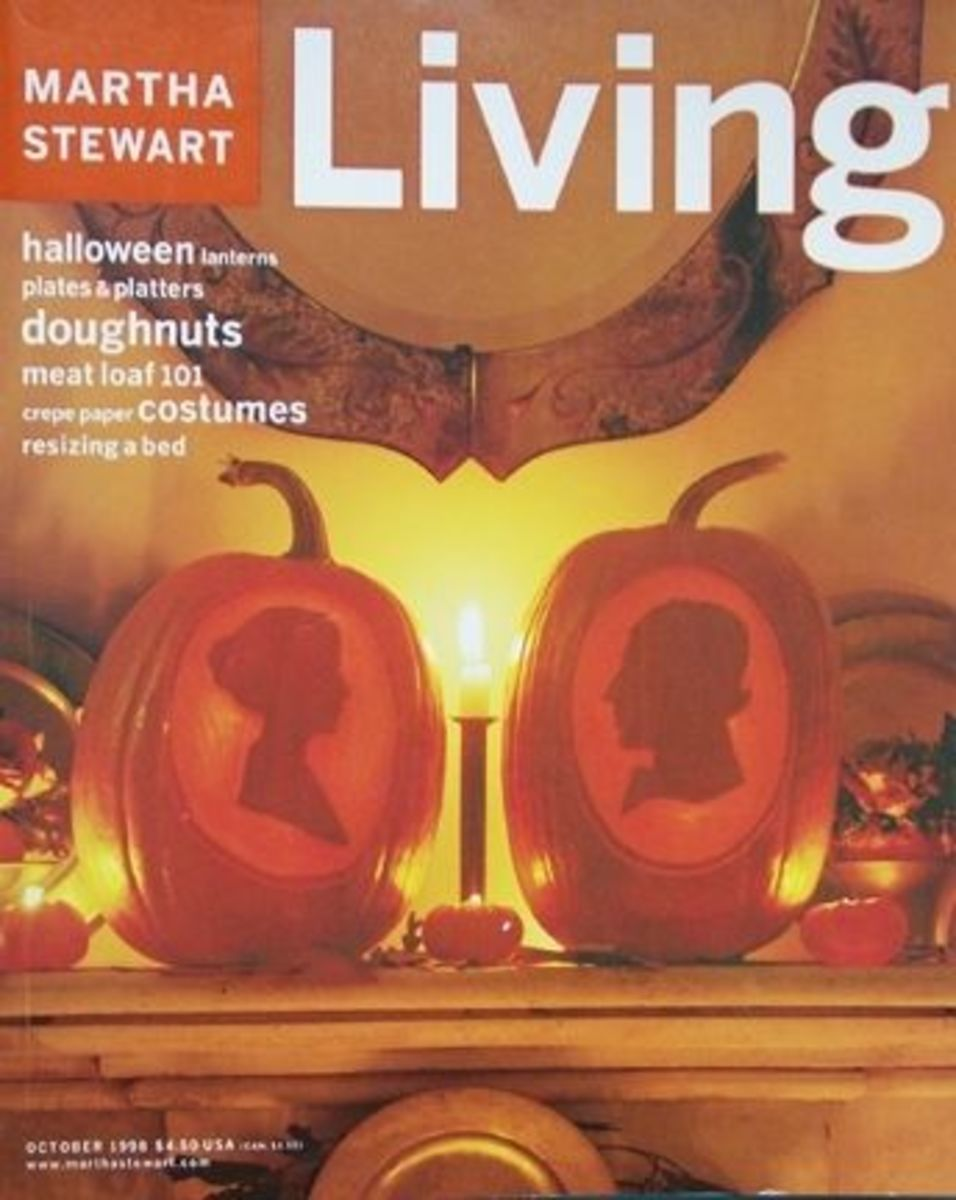 Martha Stewart Living October 1998 Halloween Magazine