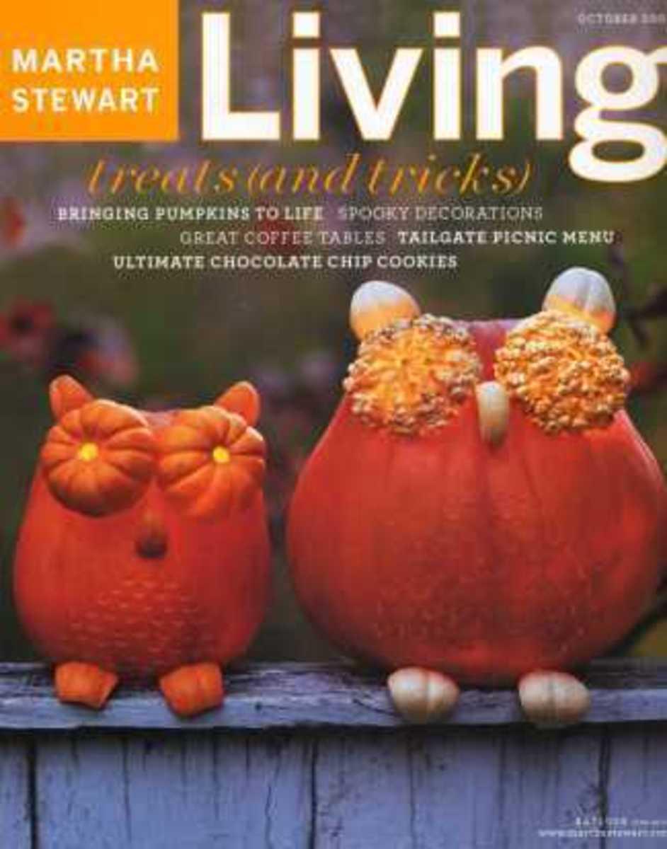 Martha Stewart October 2003 Halloween Magazine