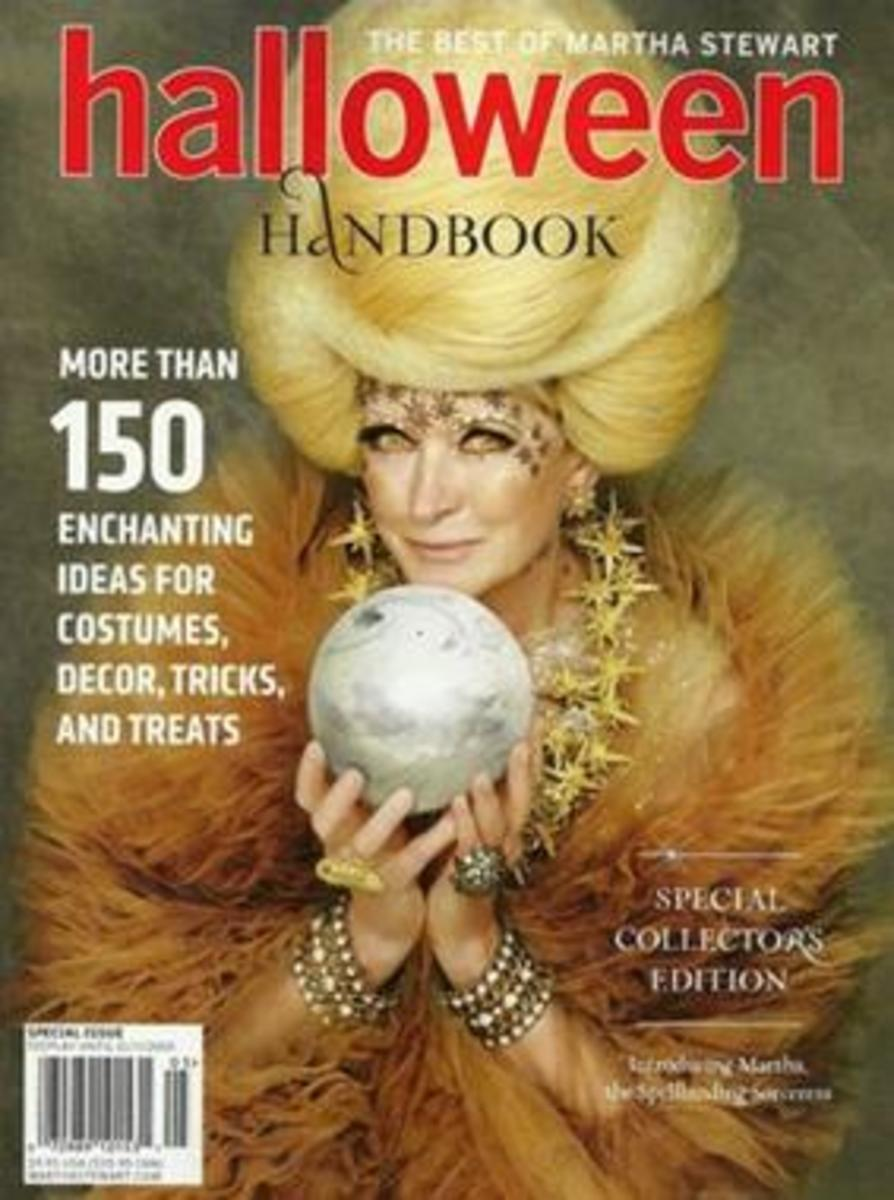 Martha Stewart Halloween Handbook 2010