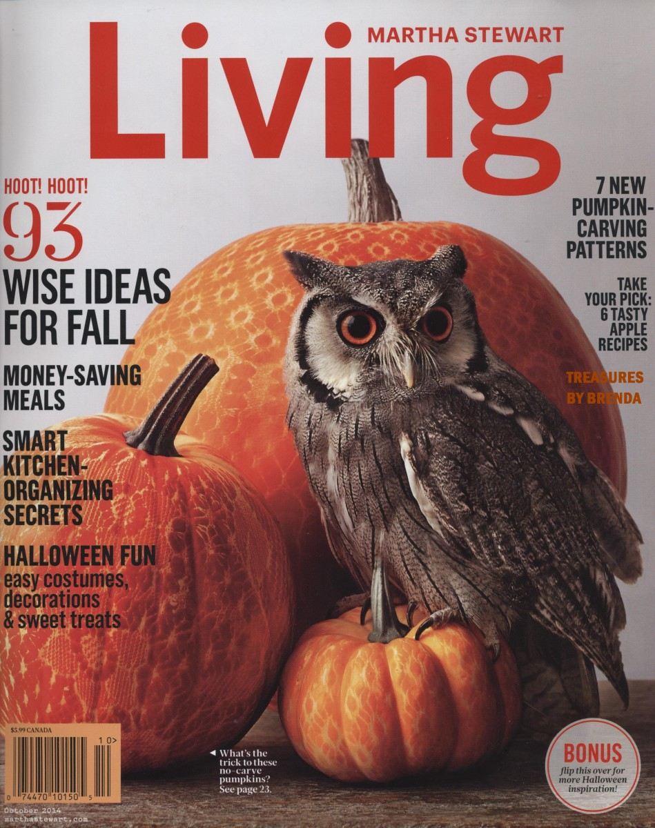 Martha Stewart Living October 2014 Magazine