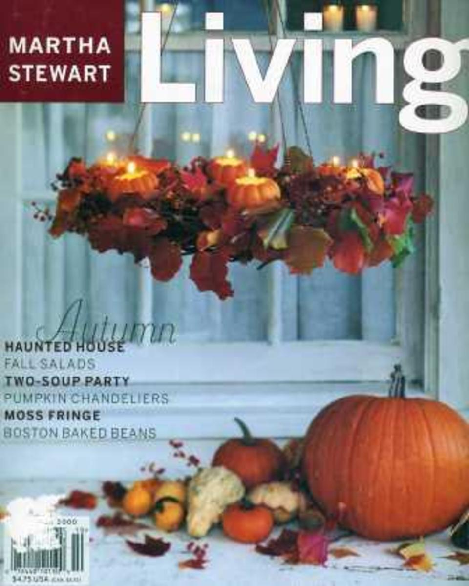 Martha Stewart Living October 2000 Halloween Magazine