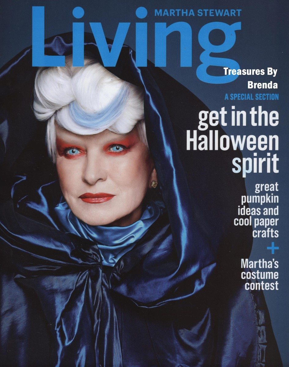 Martha Stewart Halloween Magazine Index (2014)