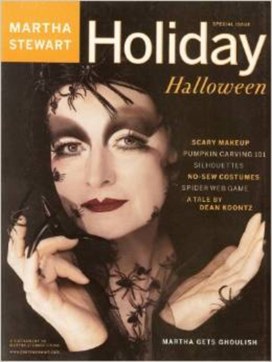 Martha Stewart Living Holiday Halloween Special 2000