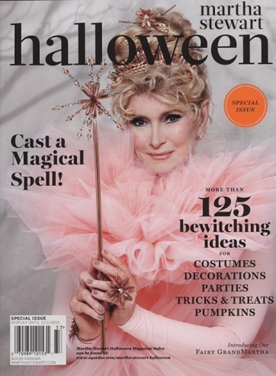 Martha Stewart Halloween Magazine 2013