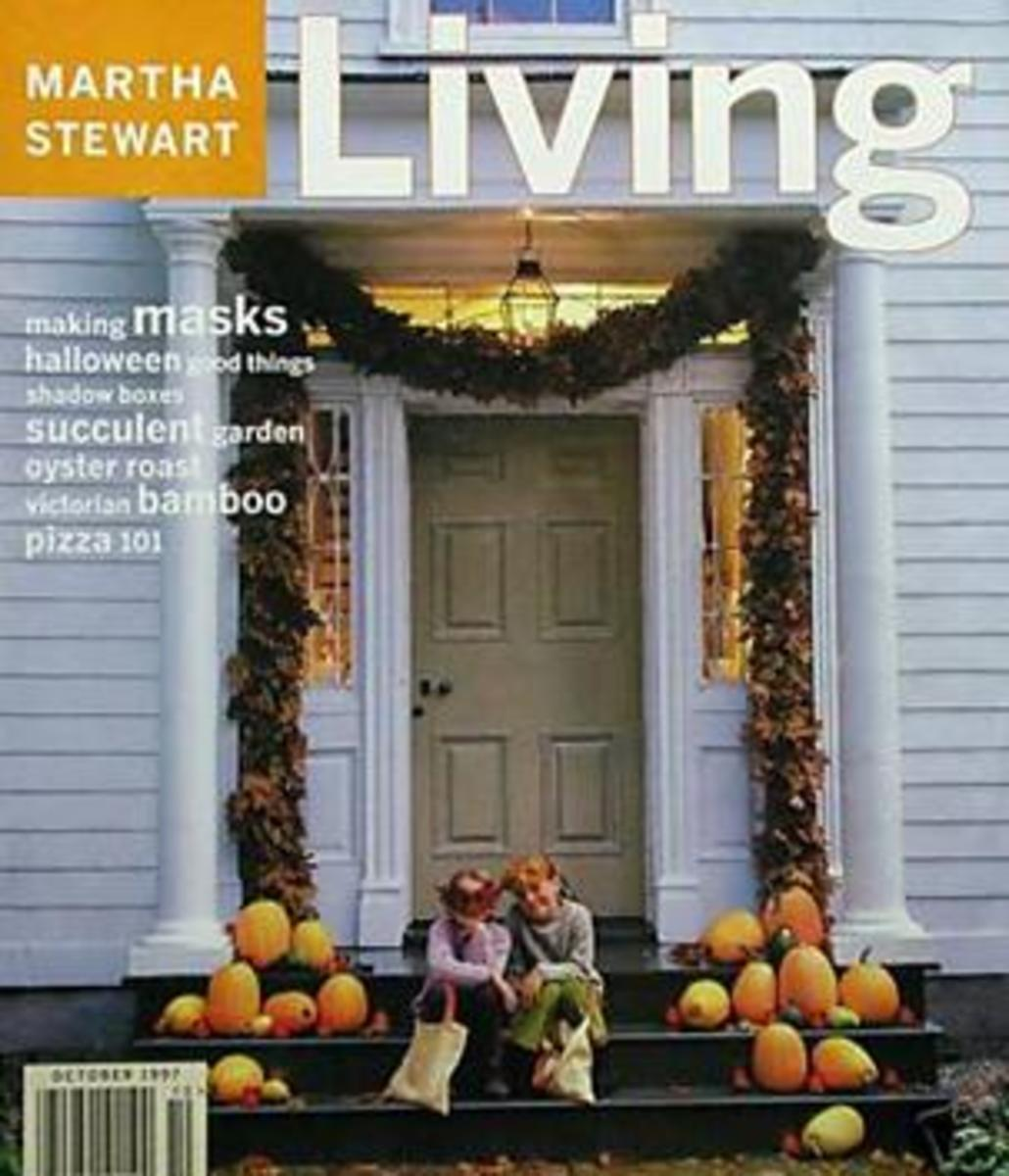 Martha Stewart Living October 1997 Halloween Magazine