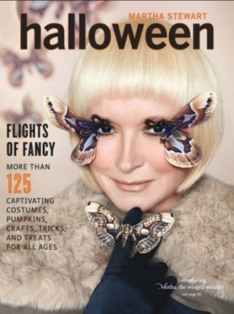 Martha Stewart 2011 Halloween Magazine