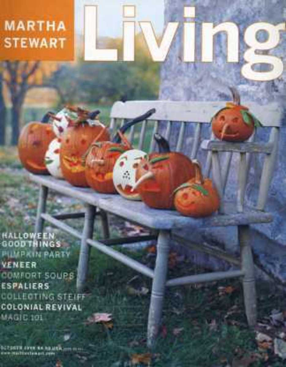 Martha Stewart Living October 1999 Halloween Magazine