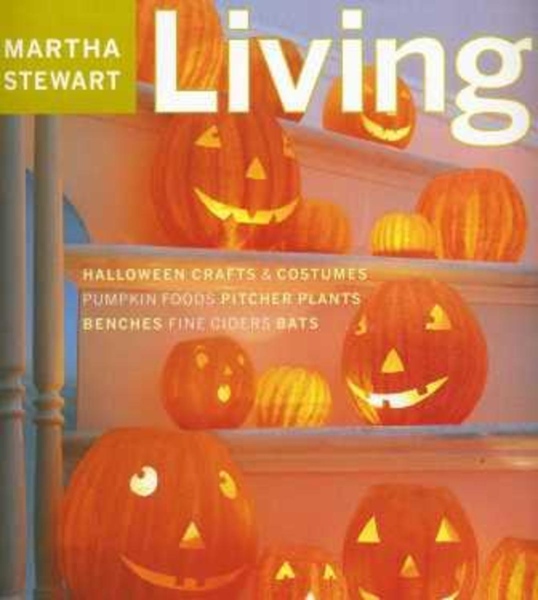 Martha Stewart Living October 2001 Halloween Magazine