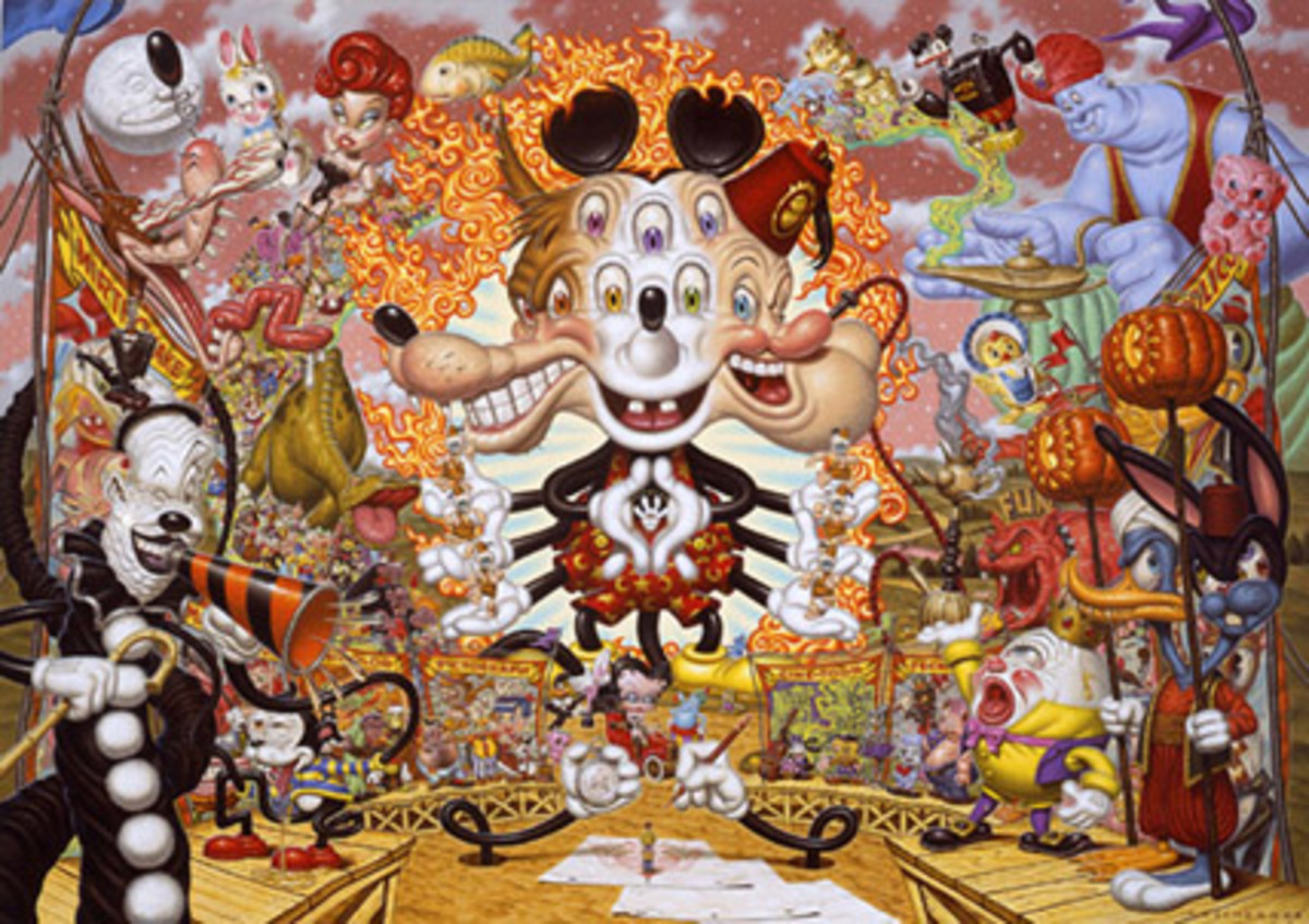 Dreamland by Todd Schorr