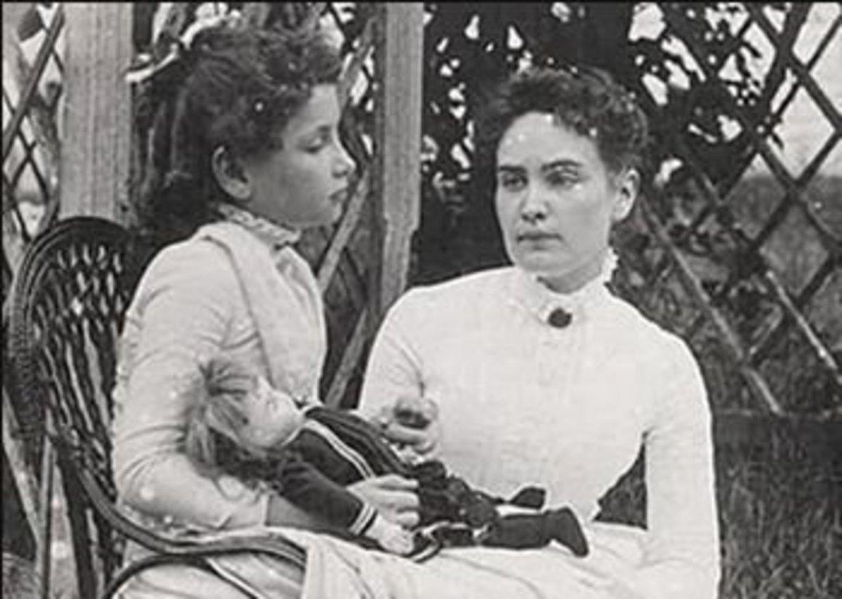 Helen Keller - My inspiration.