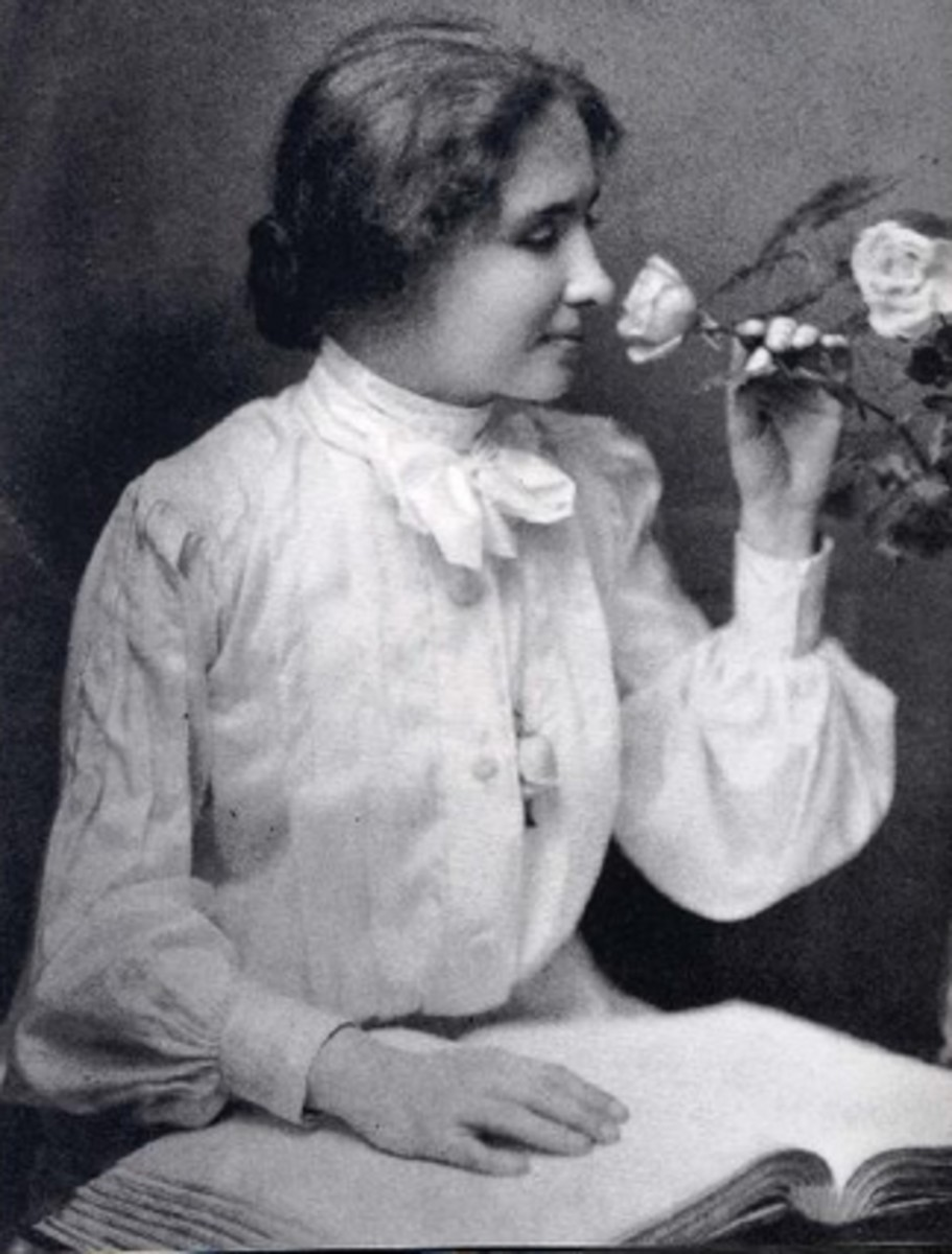 Helen Keller still the inspiration of great minds.