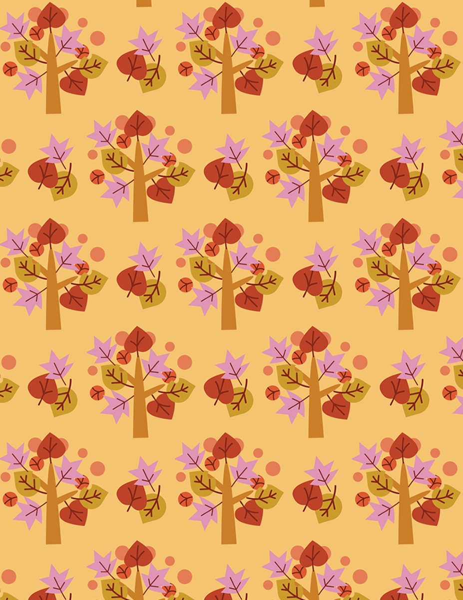 Free Thanksgiving and Fall Scrapbook Paper