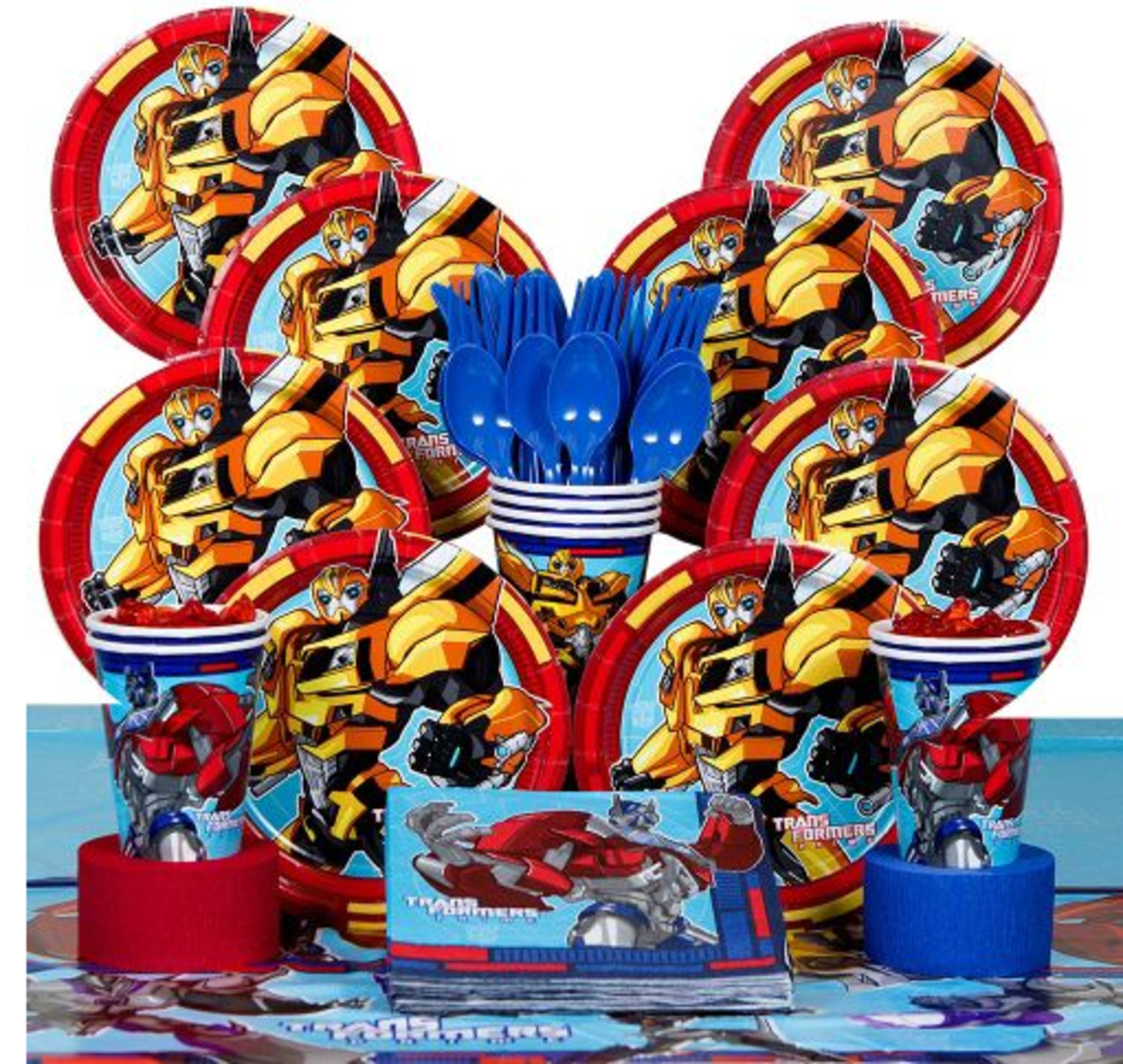 Transformers Birthday Party Supplies and Cakes