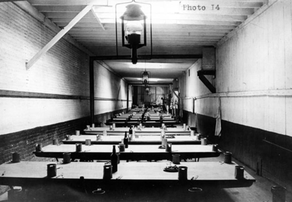 Alcatraz Mess Hall