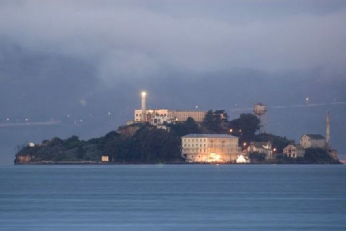 Many people who have visited Alcatraz Prison have reported all kinds of strange paranormal things going on.