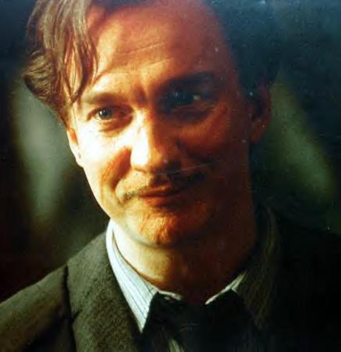 "Actor David Thewlis as Remus ""Moony"" Lupin"