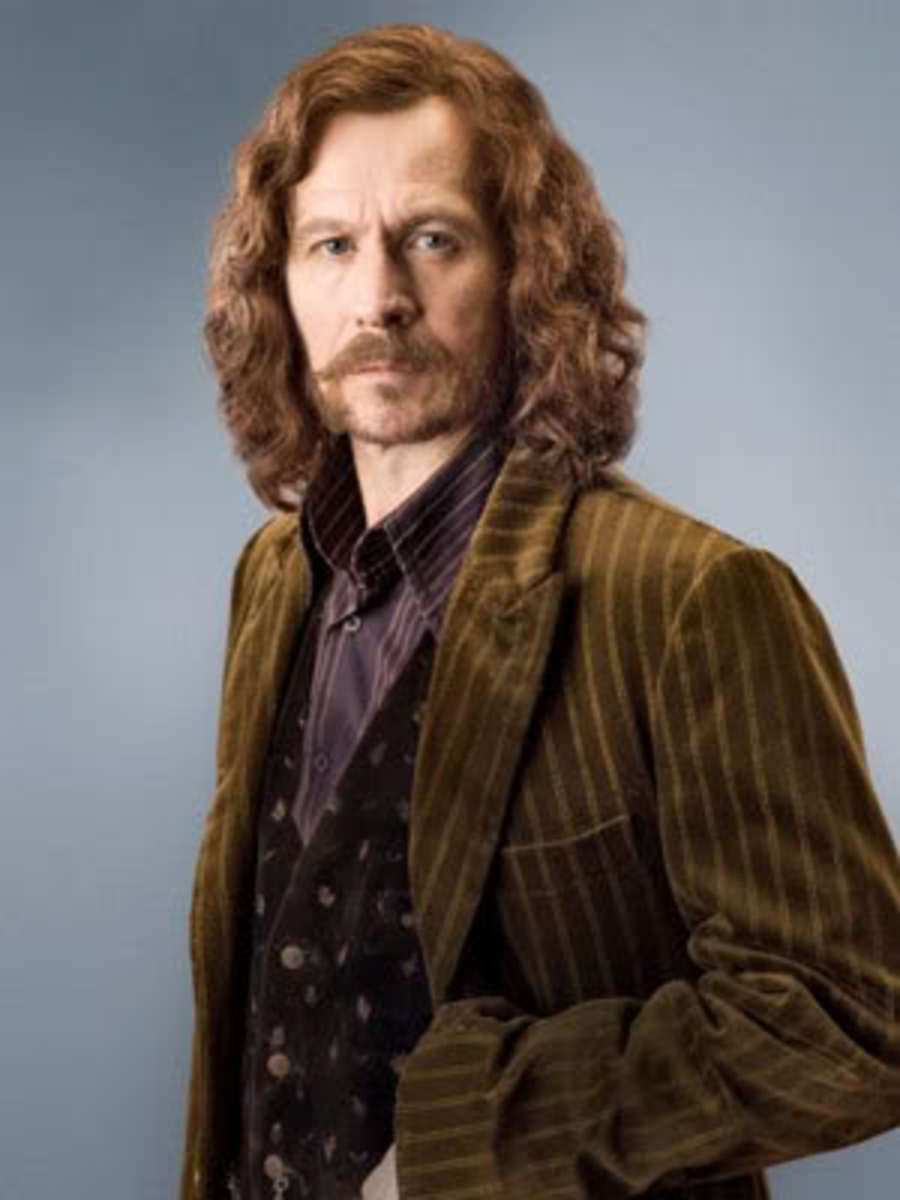 Actor Gary Oldman as Sirius Black