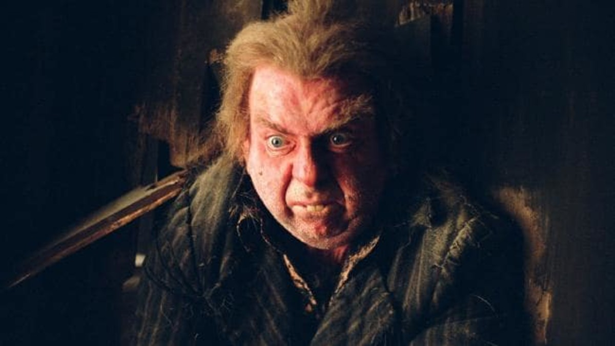 Actor Timothy Spall as Peter Pettigrew a.k.a. Wormtail