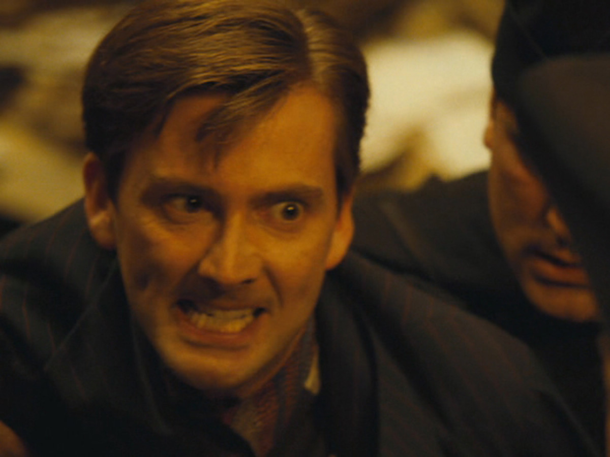 Actor David Tennant as Barty Crouch Jr.