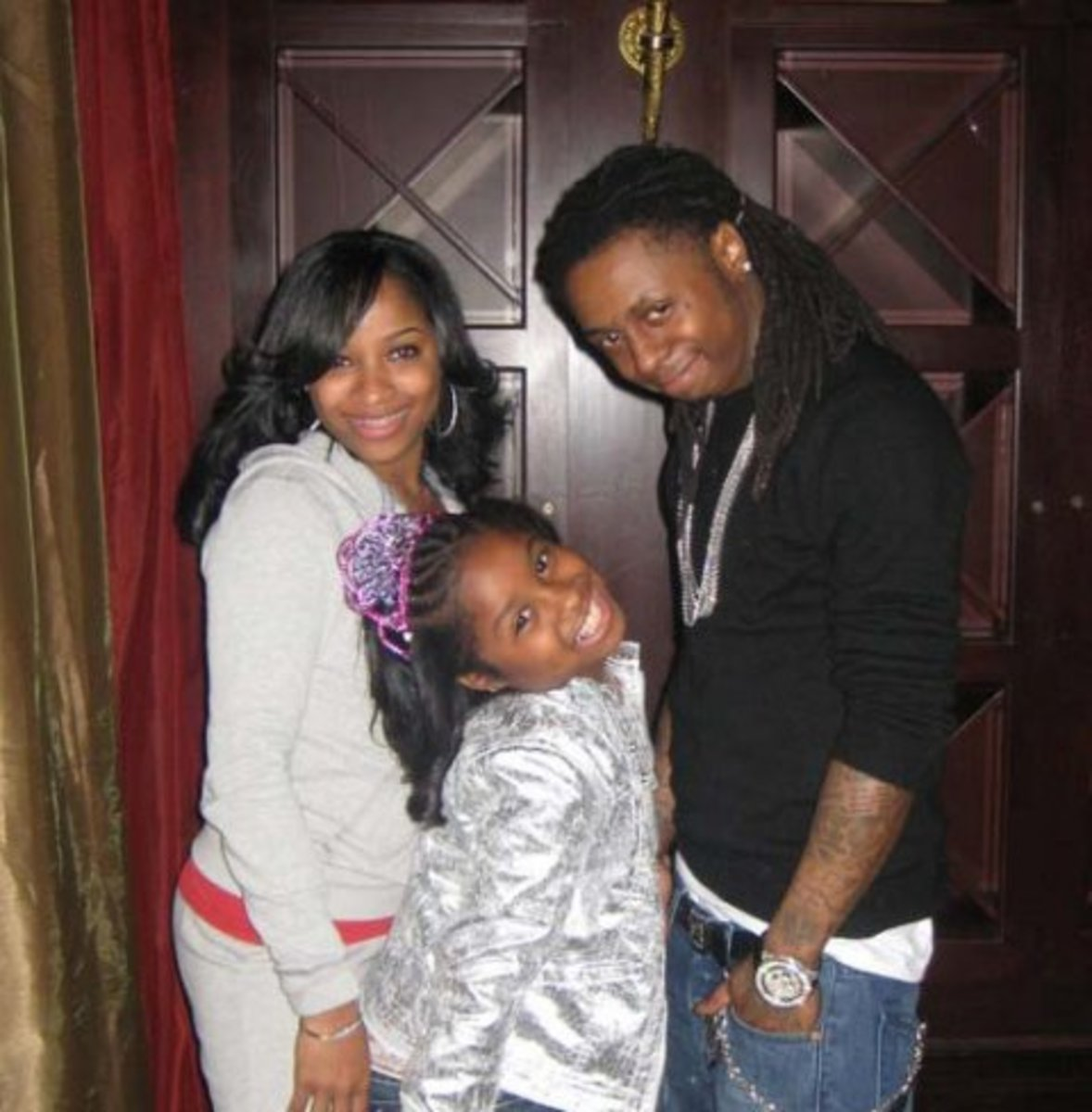 """Antonia """"Toya"""" Johnson, Lil Wayne's First baby Mother And Ex-Wife And Their Daughter Reginae Carter"""