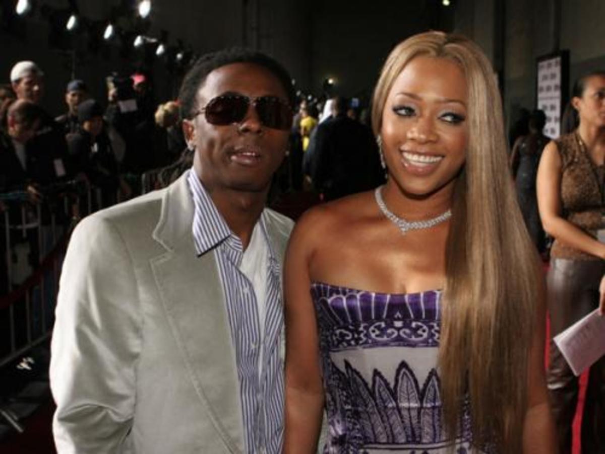 "Lil Wayne And Rapper Katrina ""Trina"" Taylor"