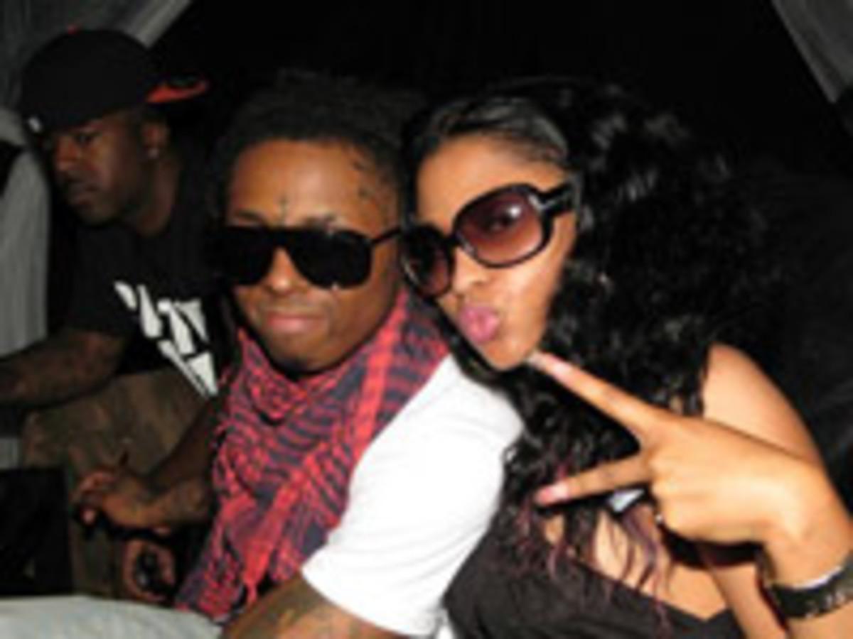 Lil Wayne And Rapper Nicki Minaj