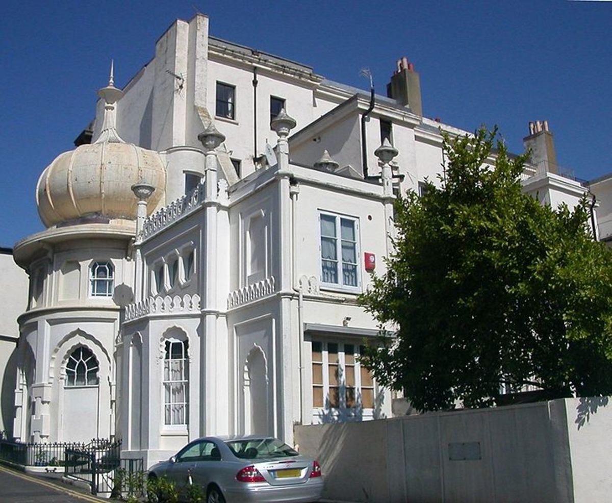 The Western Pavilon, designed by Amon Wilde, and now occupied as a private dwelling.