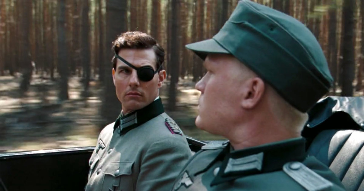 Actor Tom Cruise stars as Colonel Claus von Stauffenberg in Valkyrie the movie