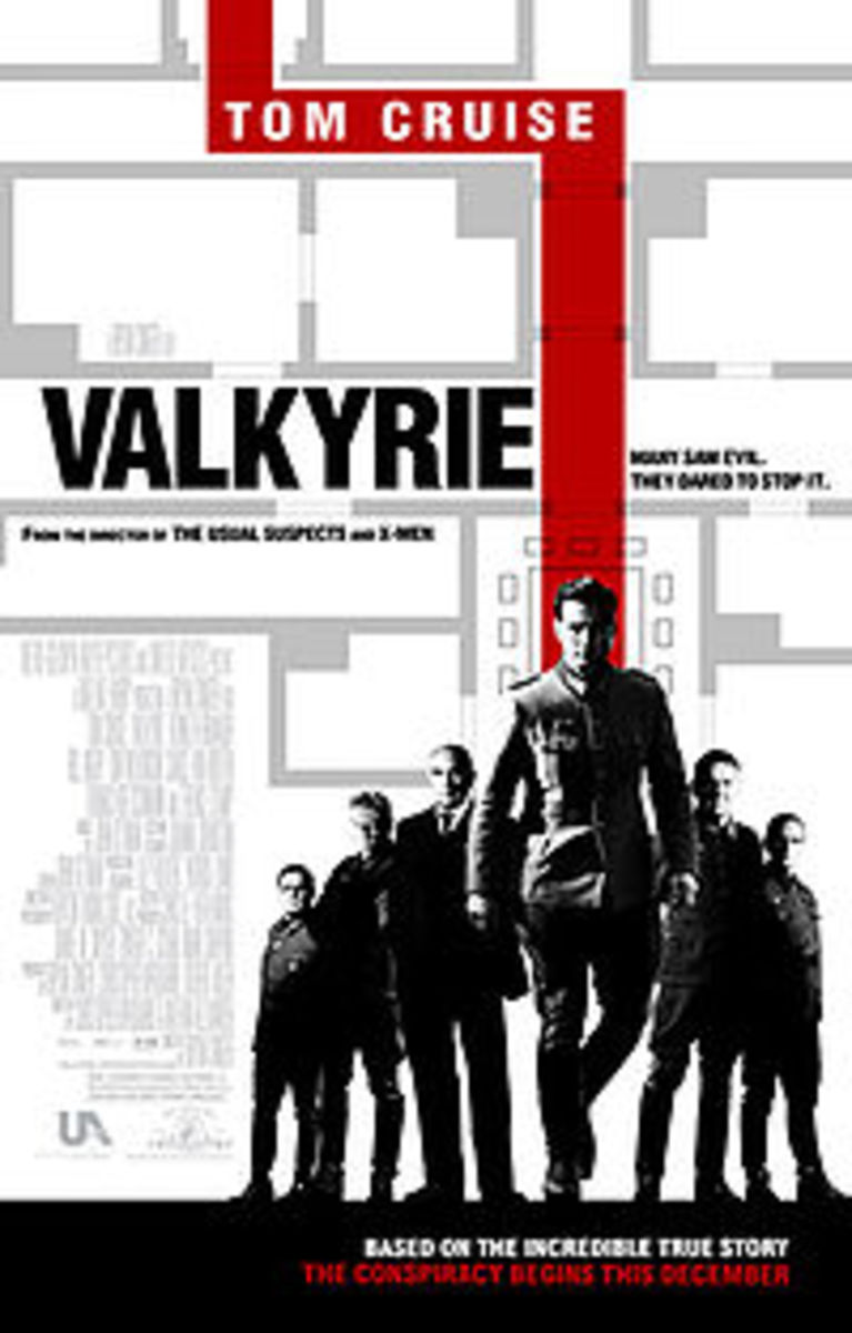Valkyrie the movie - theatrical poster, courtesy wikipedia